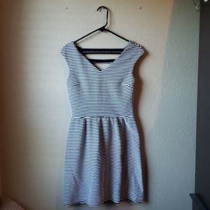 Xhilaration size medium striped dress